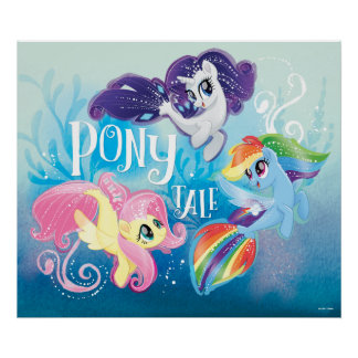 My Little Pony | Seaponies - Pony Tale Poster