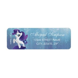 My Little Pony   Seapony Rarity Label