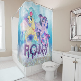 My Little Pony   Skystar and Twilight - Princess Shower Curtain