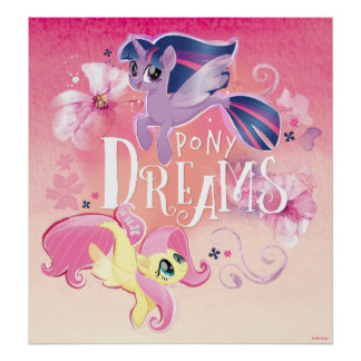 My Little Pony | Twilight and Fluttershy - Dreams Poster
