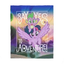 My Little Pony | Twilight and Spike - Adventure Fleece Blanket