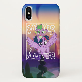 My Little Pony | Twilight and Spike - Adventure iPhone X Case