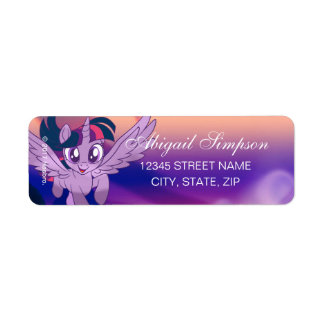 My Little Pony   Twilight - Chase Your Dreams Label