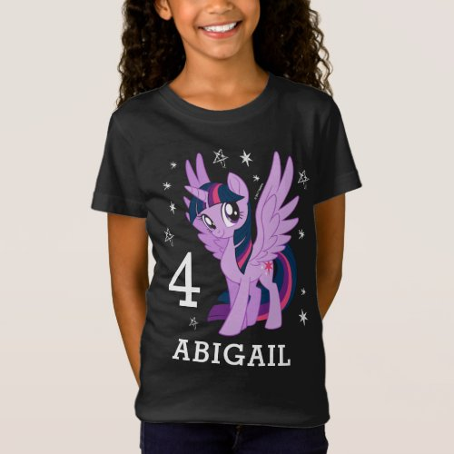 My Little Pony  Twilight Sparkle Birthday T_Shirt