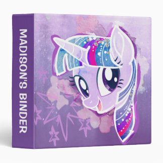 My Little Pony | Twilight Sparkle Watercolor 3 Ring Binder