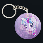 "My Little Pony | Twilight Sparkle Watercolor Keychain<br><div class=""desc"">My Little Pony: The Movie 