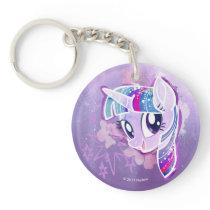My Little Pony | Twilight Sparkle Watercolor Keychain