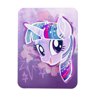 My Little Pony   Twilight Sparkle Watercolor Magnet