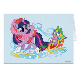 My Little Pony Winter Greeting Card