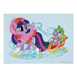 My Little Pony Winter Poster