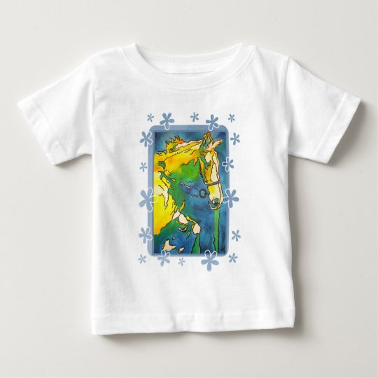 My Little Pony (Yellow and Blue) Baby T-Shirt