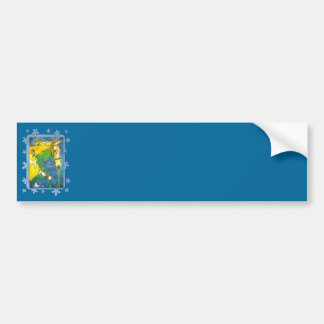 My Little Pony (Yellow and Blue) Bumper Sticker