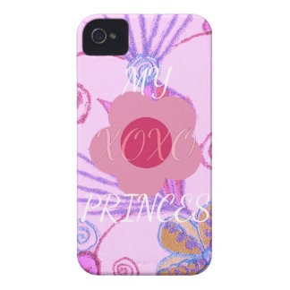 My Little Princess I love You XOXO iPhone 4 Cover