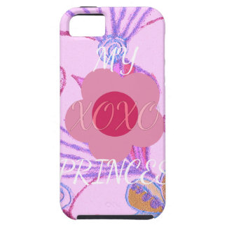 My Little Princess I love You XOXO iPhone SE/5/5s Case