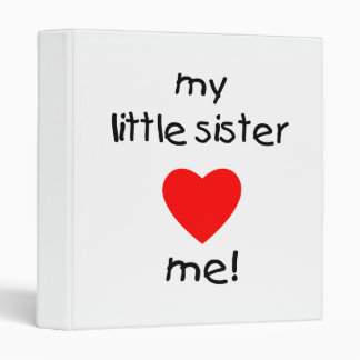 My Little Sister Loves Me Binder