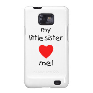 My Little Sister Loves Me Galaxy S2 Cover