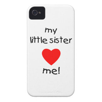 My Little Sister Loves Me Case-Mate iPhone 4 Cases