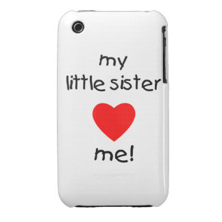 My Little Sister Loves Me iPhone 3 Case