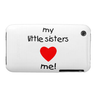 My Little Sisters Love Me Case-Mate iPhone 3 Cases