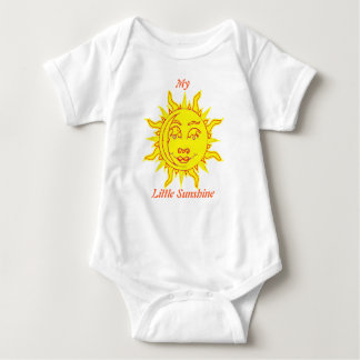 'My Little Sunshine' Infants Creeper