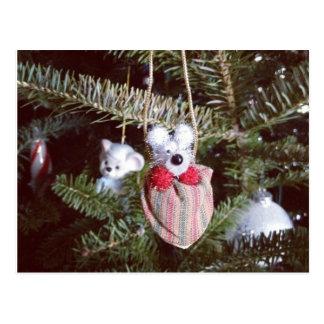 My little Teddy Bear ornament Postcard