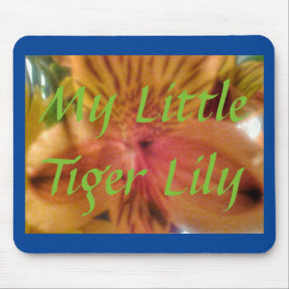 MY LITTLE TIGER LILY MOUSE PAD
