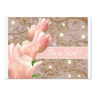 My little tulip 1b baby girl card