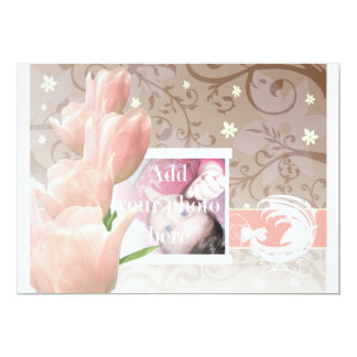 My little tulip 1c baby girl card