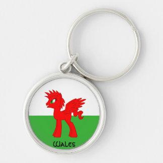 My Little Welsh Keychain