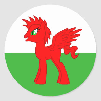 My Little Welsh Sticker