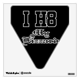 my lizzard wall sticker