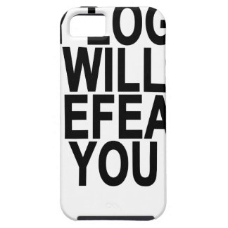 MY LOGIC WILL DEFEAT YOU.png iPhone SE/5/5s Case