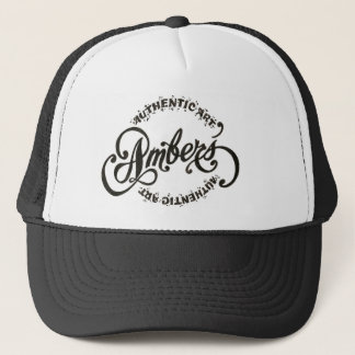 my logo trucker hat