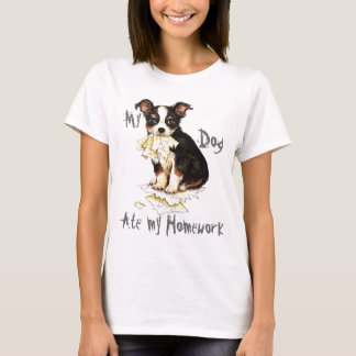 My Long Coat Chihuahua Ate My Homework T-Shirt