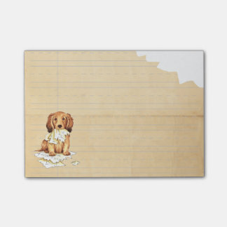 My Longhaired Dachshund Ate my Homework Post-it® Notes