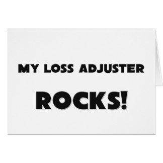 MY Loss Adjuster ROCKS! Greeting Cards