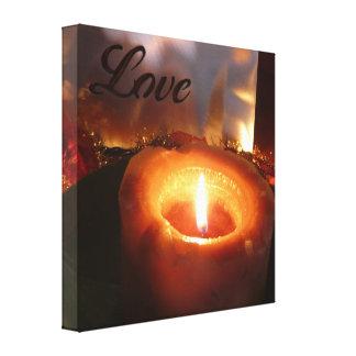 My Love Burns Brightly Canvas Print