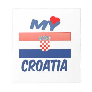 My Love Croatia. Note Pad