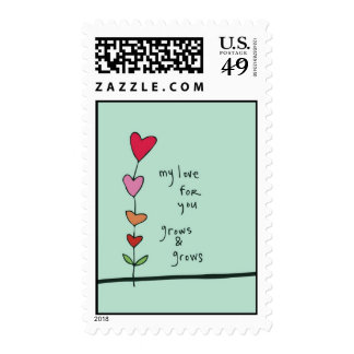 My Love For You Grows Postage