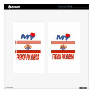 My love French Polynesia. Decals For Kindle Fire