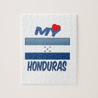My love Honduras. Jigsaw Puzzle