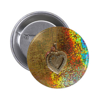 My Love Is  All Colors Button