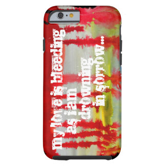 MY LOVE IS BLEEDING Phone Case