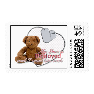 My Love is deployed.... Stamp