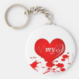 My Love Keychain