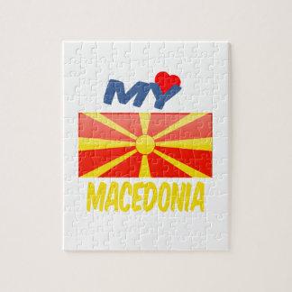 My love Macedonia. Jigsaw Puzzle