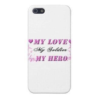 My Love My Soldier My Hero iPhone SE/5/5s Case