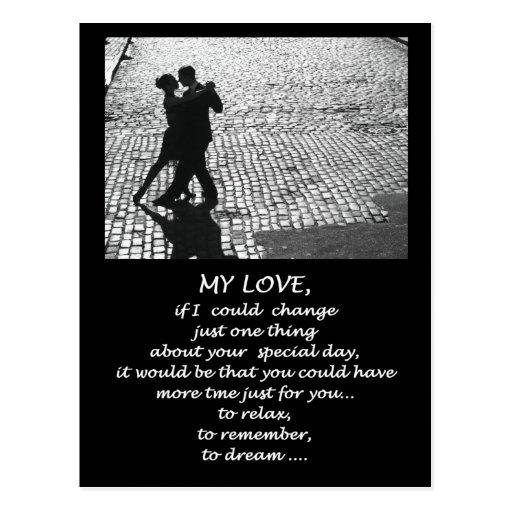 MY LOVE POSTCARD