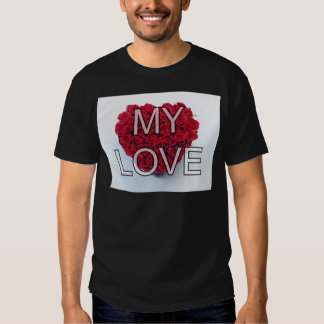 my love,roses shirts