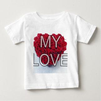my love,roses tee shirt